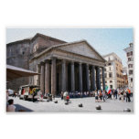Pantheon, Rome - Summer, 2009 Poster