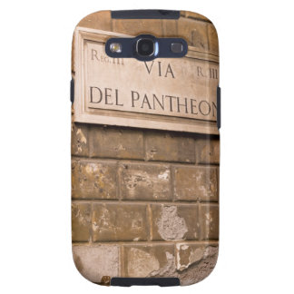 Pantheon sign, Rome, Italy 2 Galaxy S3 Case