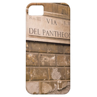 Pantheon sign, Rome, Italy 2 iPhone 5 Cover