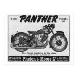 panther 100 postcard