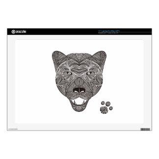 """Panther 17"""" Laptop Decal"""