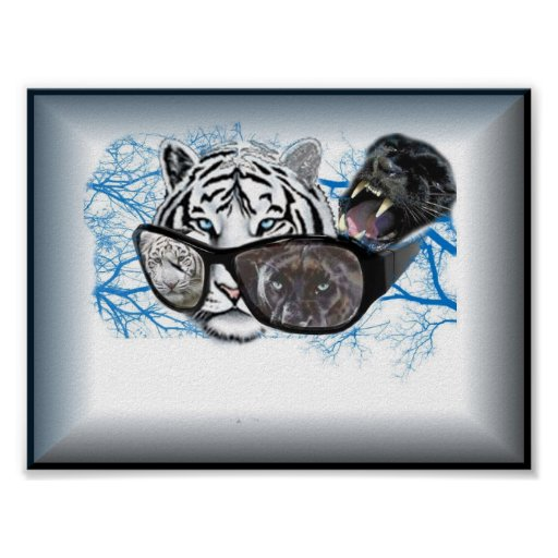 panther and tiger poster