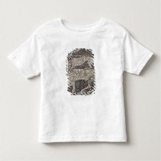 Panther attacking a bull toddler t-shirt