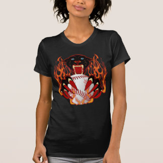 Panther-Baseball-1-Black-T-2 T-Shirt