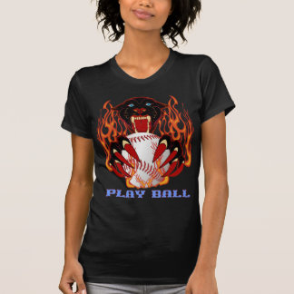Panther-Baseball-1-Black-T T-Shirt