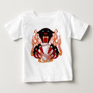 Panther-Baseball-1White-T-2 Baby T-Shirt