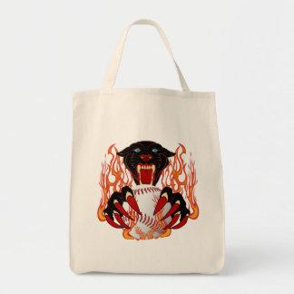 Panther-Baseball-1White-T-2 Tote Bag