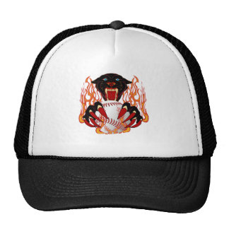 Panther-Baseball-1White-T-2 Trucker Hat
