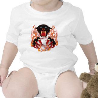 Panther-Baseball-1White-T-2 Tee Shirts