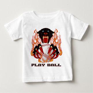 Panther-Baseball-1White-T Baby T-Shirt