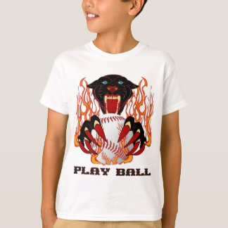 Panther-Baseball-1White-T T-Shirt