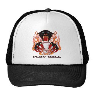 Panther-Baseball-1White-T Trucker Hat