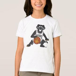Panther Basketball Mascot T-Shirt