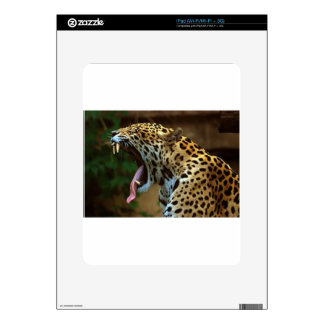 Panther Bearing Teeth Skin For The iPad