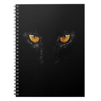 PANTHER, BLACK, NIGHT NOTEBOOK
