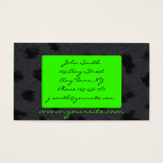 Panther Business Card Template