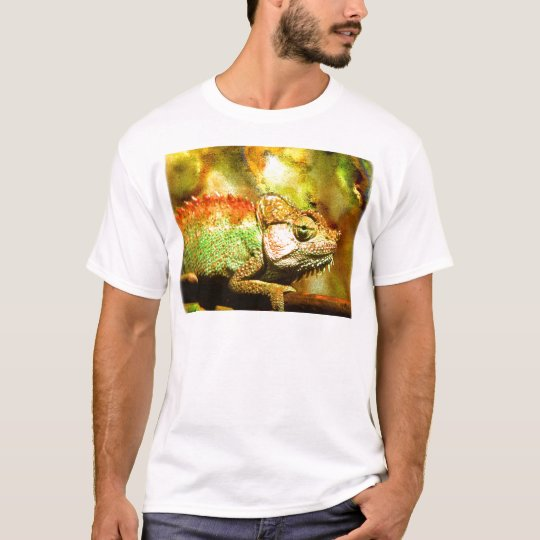 panther chameleon Digital art T-Shirt