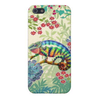 Panther Chameleon in Jungle iPhone SE/5/5s Cover
