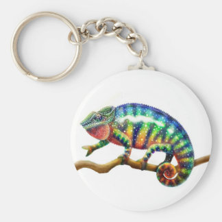 Panther Chameleon Keychain