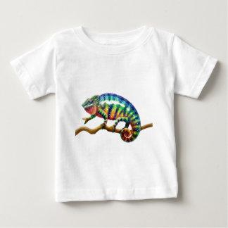 Panther Chameleon Lizard Baby T-Shirt