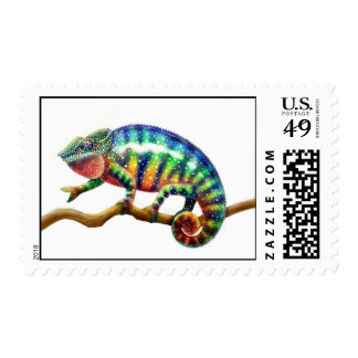 Panther Chameleon Lizard Postage