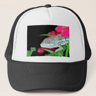 panther chameleon trucker hat