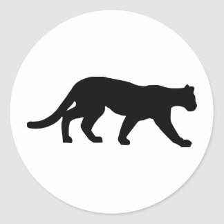 Panther - Cougar Classic Round Sticker