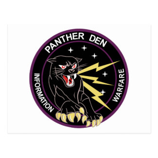 Panther Den Information Warfare Postcard