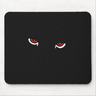 Panther Eyes Mouse Pad
