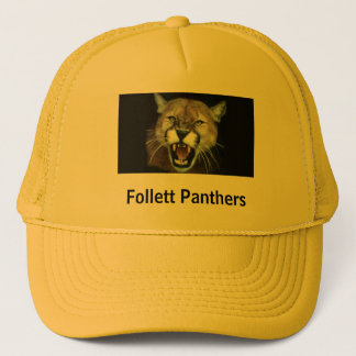 Panther, Follett Panthers Trucker Hat