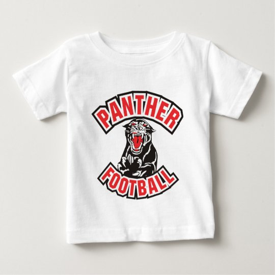 PANTHER FOOTBALL red Baby T-Shirt
