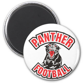 PANTHER FOOTBALL red Refrigerator Magnets
