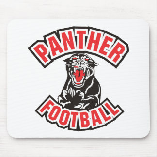 PANTHER FOOTBALL red Mouse Pad