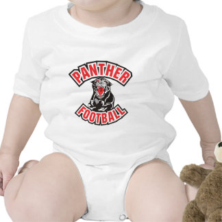 PANTHER FOOTBALL red T-shirts