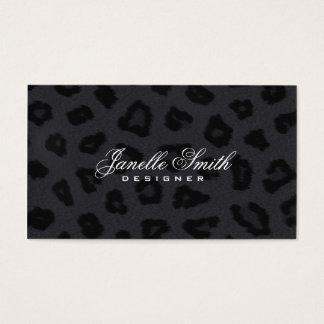 Panther Fur Design Business Card