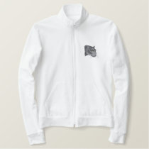 Panther Head Embroidered Jacket
