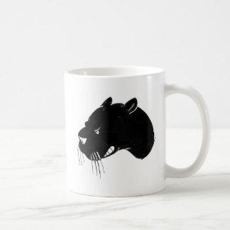 Panther head Growling Classic White Coffee Mug