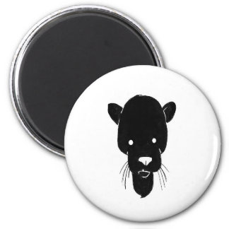 Panther head magnet