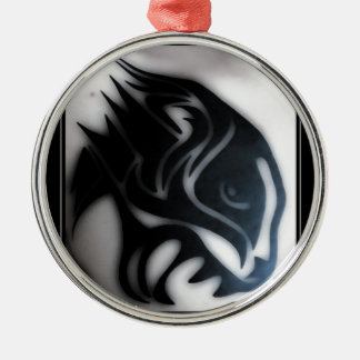 panther metal ornament