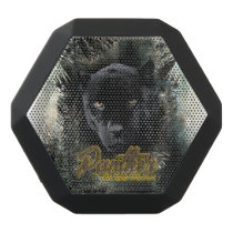 """""""Panther on the Prowl"""" Black Bluetooth Speaker"""