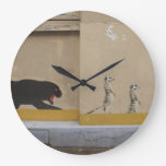 Panther on the Prowl Wall Clocks