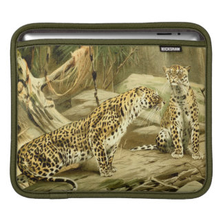 Panther Painting Leopard Wild Cat Wildlife Art Sleeves For iPads