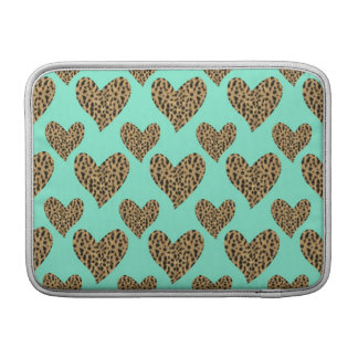 Panther Pattern Hearts MacBook Air Sleeve
