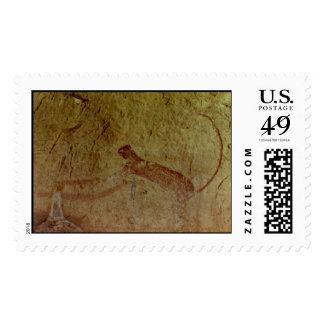 Panther Pictograph at Panther Cave Postage
