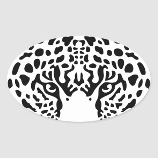 panther.png oval sticker