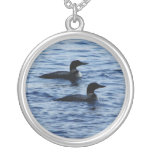 Panther Pond Loons Necklace