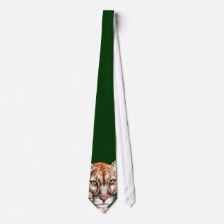 Panther Portrait Neck Tie