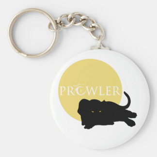Panther Prowler Basic Round Button Keychain