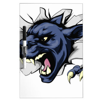Panther ripping through background Dry-Erase whiteboards