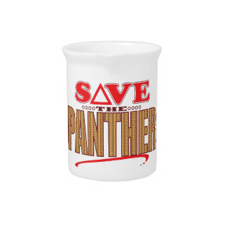 Panther Save Drink Pitcher